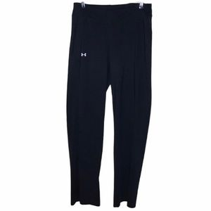 UNDER ARMOUR BOOTCUT FLARED PANTS BLACK